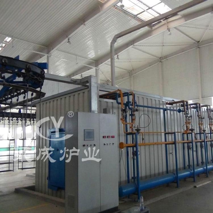Enamel industrial furnace