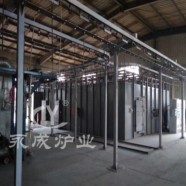 Enamel sintering furnace