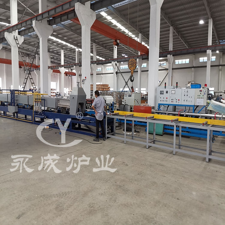 Continuous annealing furnace