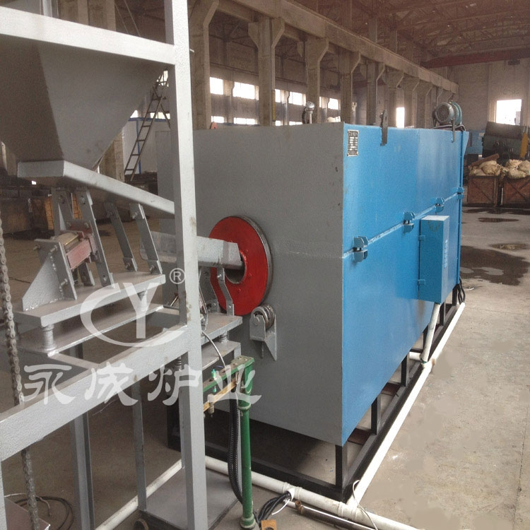 Air bluing furnace