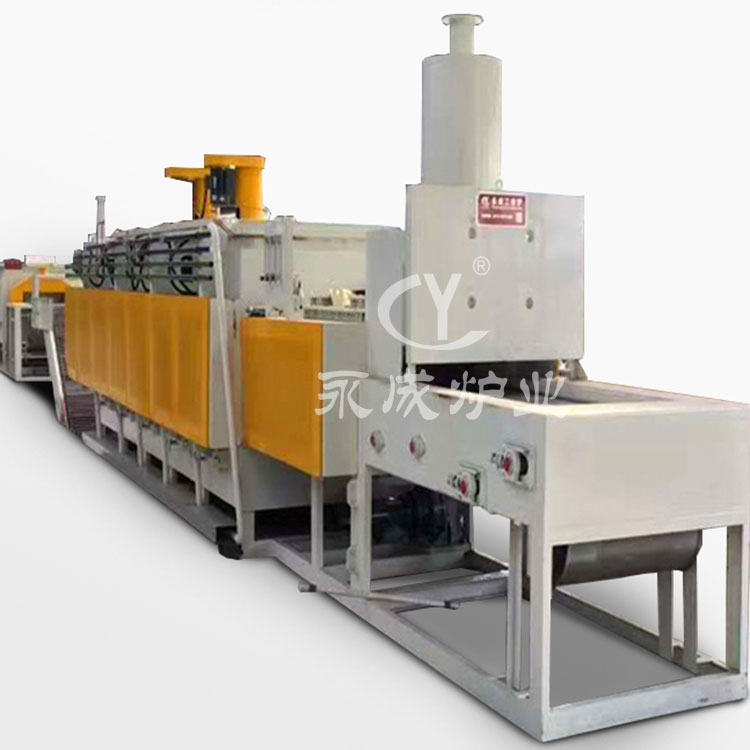 Steel cylinder quenching  tempering furnace