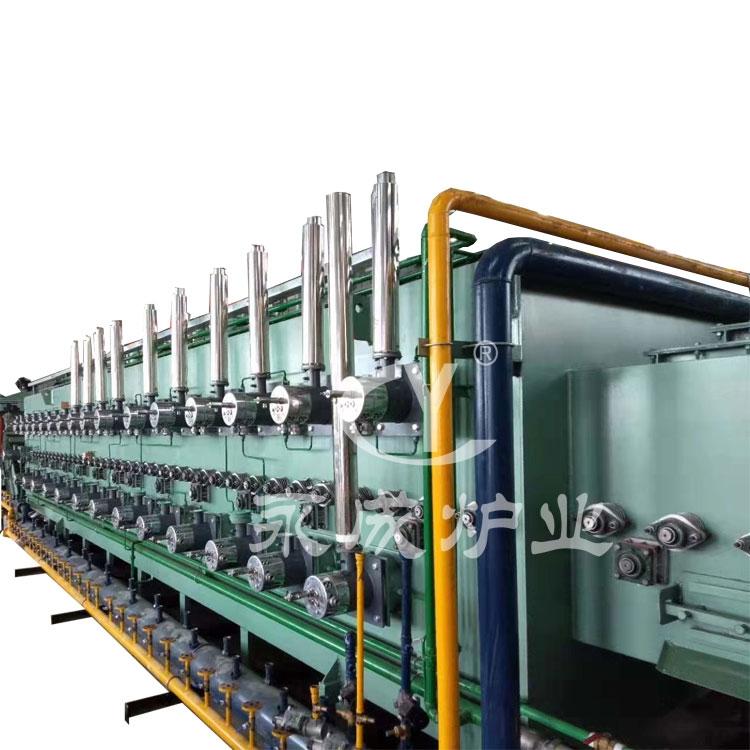 Gas annealing furnace