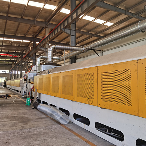 Steel belt quenching  tempering furnace