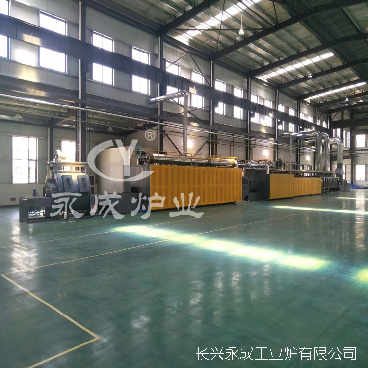 Drying tunnel furnace