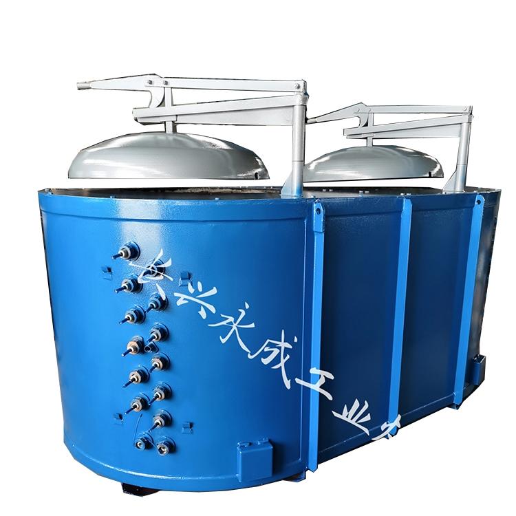 Aluminum alloy melting furnace