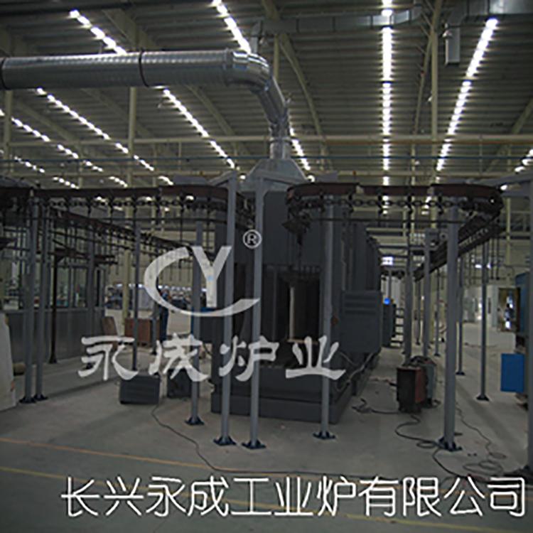 Enamel liner sintering furnace