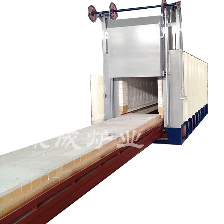 High temperature trolley furnace